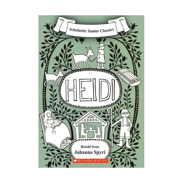 Scholastic Junior Classics : Heidi (Book & CD)
