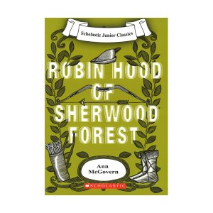 Scholastic Junior Classics : Robin hood of Sherwood Forest (Book & CD)