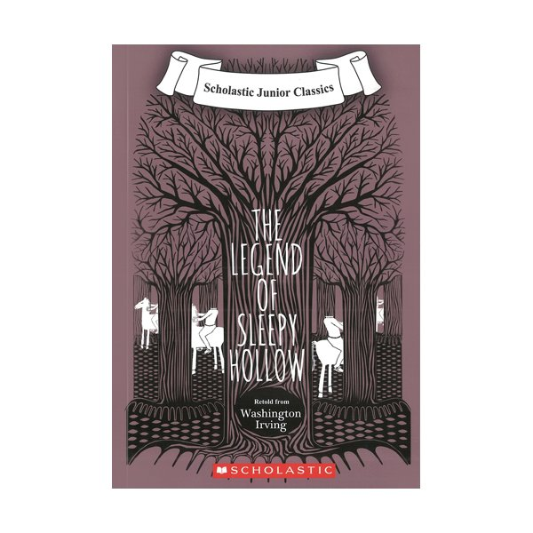Scholastic Junior Classics : The Legend Of Sleepy Hollow (Book & CD)