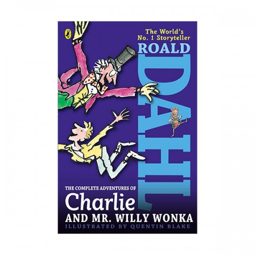 The Complete Adventures of Charlie and Mr. Willy Wonka (Paperback)