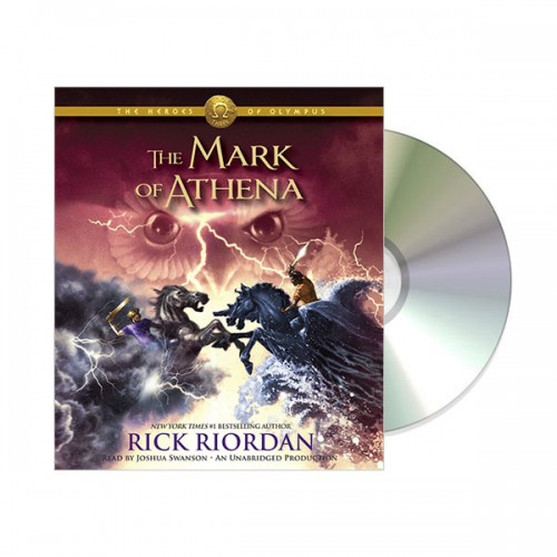 The Heroes of Olympus #3 : The Mark of Athena (Audio CD, Unabridged)