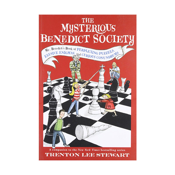 The Mysterious Benedict Society : Mr. Benedict's Book of Perplexing Puzzles, Elusive Enigmas, and Curious Conundrums (Paperback)