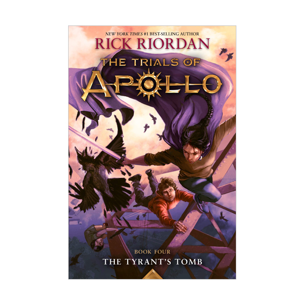 The Trials Of Apollo #04 : The Tyrant's Tomb (Paperback)