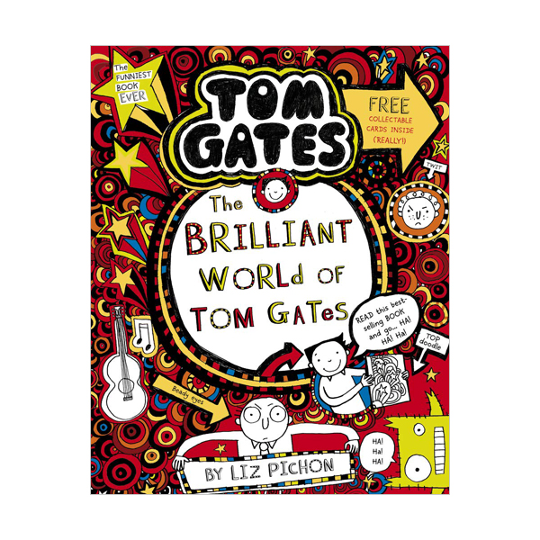 Tom Gates #1 : The Brilliant World of Tom Gates (Paperback, 영국판)