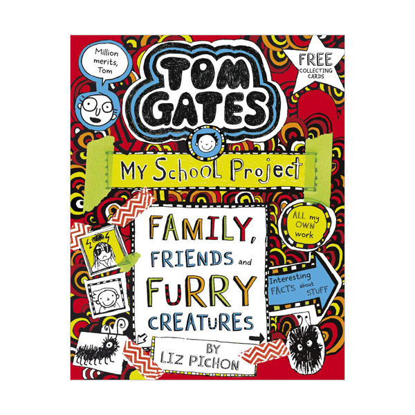 Tom Gates #12 : Family, Friends and Furry Creatures (Paperback, 영국판)
