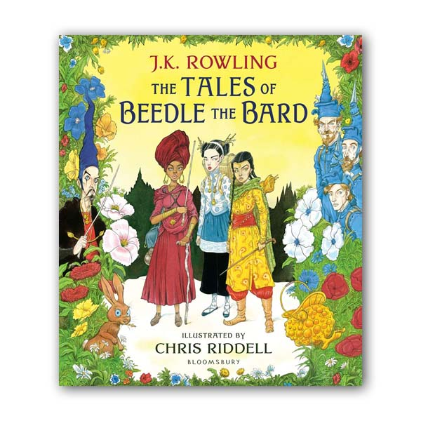 [가격인하] The Tales of Beedle the Bard: Illustrated Edition (Hardcover, 영국판)