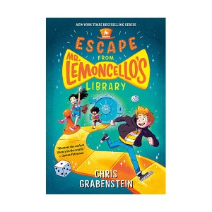 [모닝캄 2015-16 위너] RL 4.5 : Escape from Mr. Lemoncello's Library (Paperback)