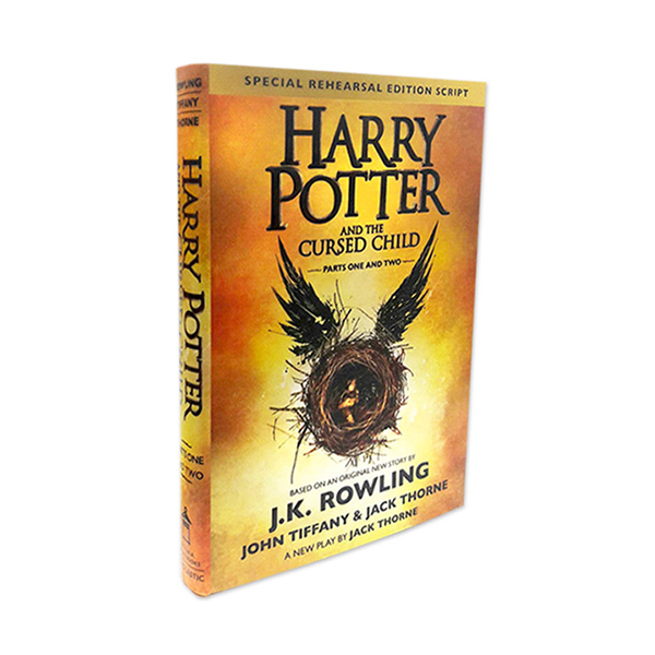[미국판] RL 3.9 : Harry Potter and the Cursed Child - Parts I & II : 저주받은 아이 (Hardcover)