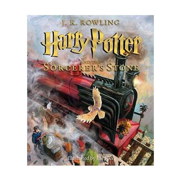[미국판] RL 5.5 : Harry Potter #1 : Harry Potter and the Sorcerer's Stone : The Illustrated Edition (Hardcover)