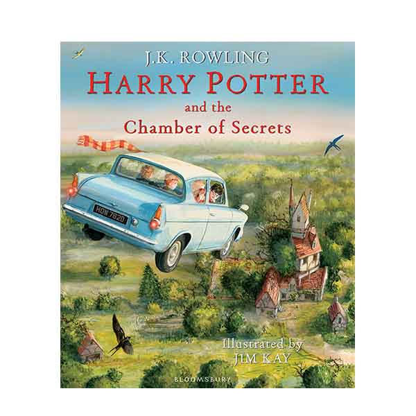 [일러스트판/미국판] 해리포터 #02 : Harry Potter and the Chamber of Secrets (Hardcover, 풀컬러)