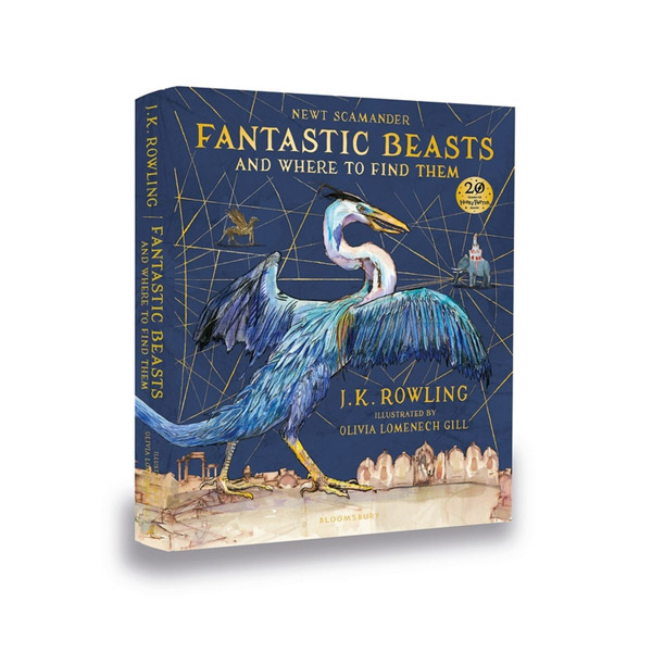 [일러스트판/영국판] Fantastic Beasts and Where to Find Them (Hardcover, 풀컬러)