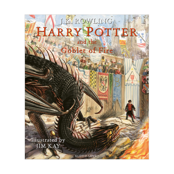 [영국판] Harry Potter #04: Harry Potter and the Goblet of Fire : The Illustrated Edition (Hardcover)
