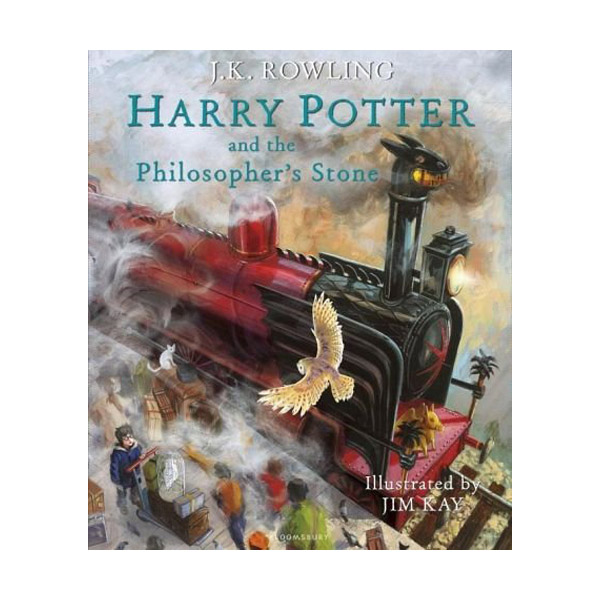[일러스트판/영국판] 해리포터 #01: Harry Potter and the Philosopher's Stone (Hardcover, 풀컬러)