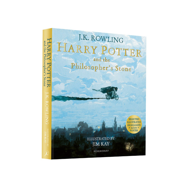 [영국판] RL 5.5 : Harry Potter #1 : Harry Potter and the Philosopher's Stone : Illustrated Edition (Paperback)