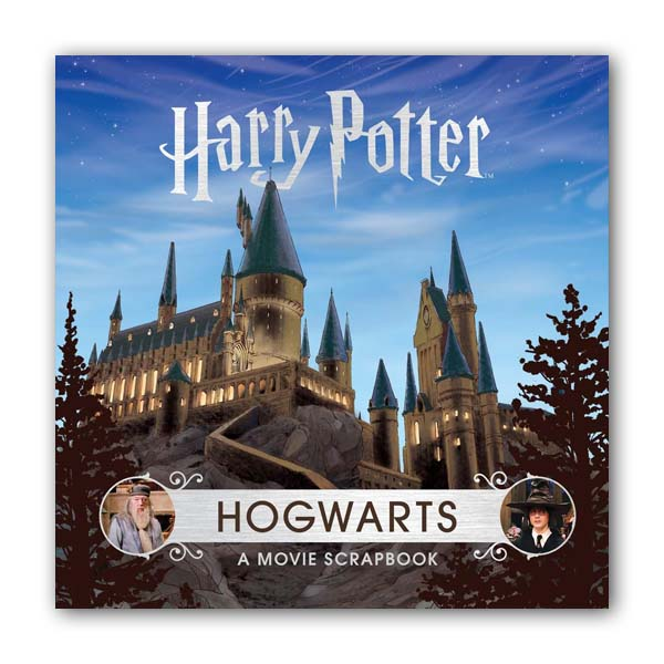 해리포터 ? Hogwarts : A Movie Scrapbook (Hardcover, 영국판)