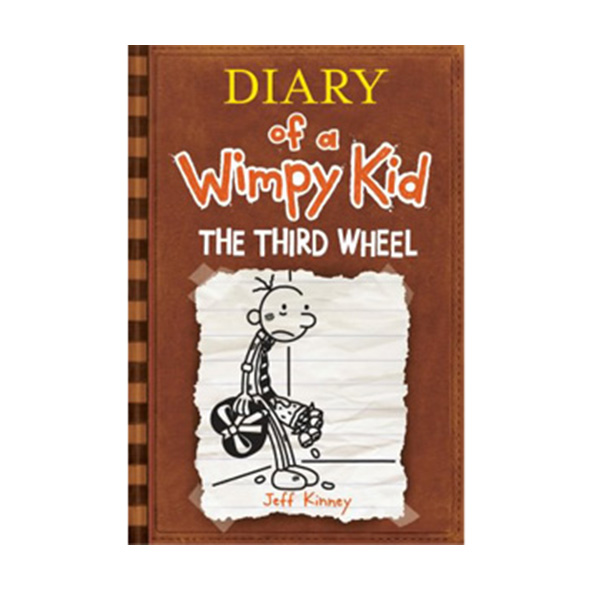 RL 5.6 : Diary of a Wimpy Kid #7 : The Third Wheel (Paperback)