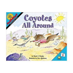 RL 2.8 : MathStart Level 2 : Coyotes All Around (Paperback)