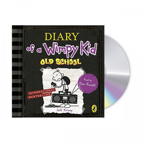Diary of a Wimpy Kid #10 : Old School (Audio CD,영국판)