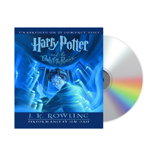 Harry Potter #5 : Harry Potter and the Order of the Phoenix (Audio CD)