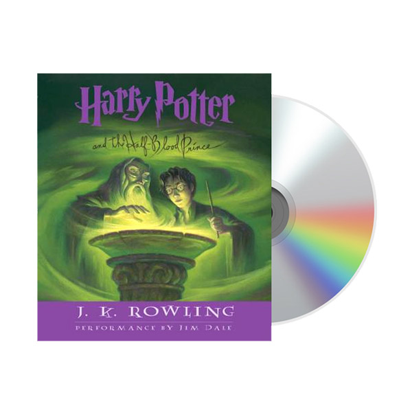 Harry Potter #6 : Harry Potter and the Half-Blood Prince (Audio CD)
