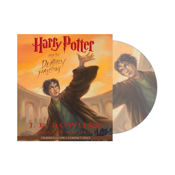 Harry Potter #7 : Harry Potter and the Deathly Hallows (Audio CD)