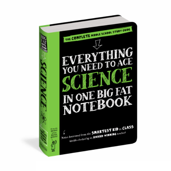 Everything You Need to Ace Science in One Big Fat Notebook : The Complete Middle School Study Guide (Paperback)