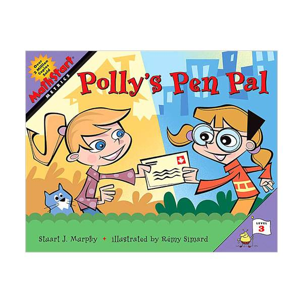 MathStart 3 : Polly's Pen Pal (Paperback)