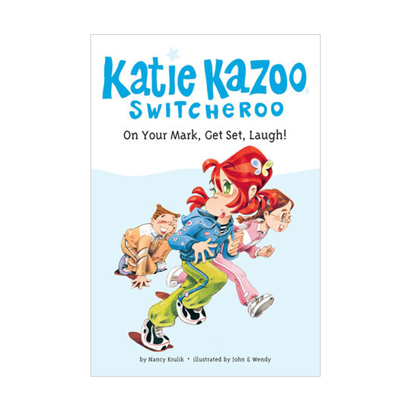 RL 3.2 : Katie Kazoo, Switcheroo #13 : On Your Mark, Get Set, Laugh! (Paperback)
