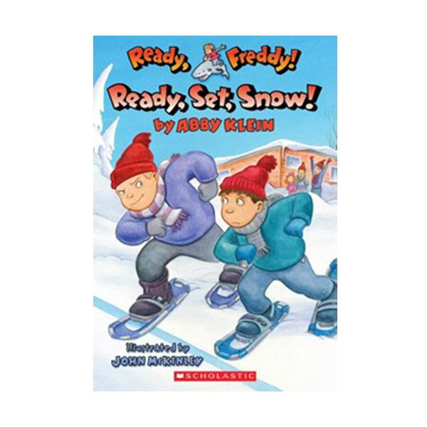 RL 3.3 : Ready, Freddy! Series #16 : Ready, Set, Snow! (Paperback)