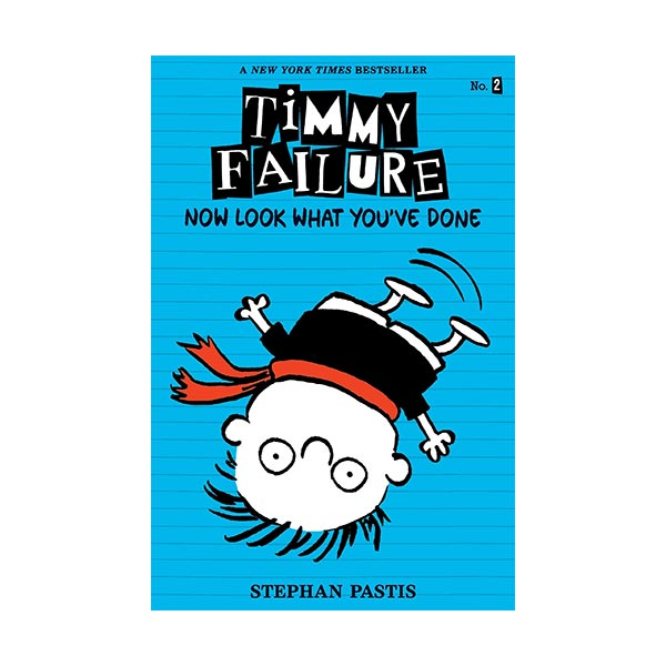 RL 3.8 : Timmy Failure #02 : Now Look What You've Done (Paperback)