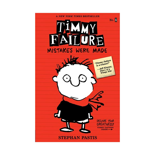 RL 3.8 : Timmy Failure #01 : Mistakes Were Made (Paperback)