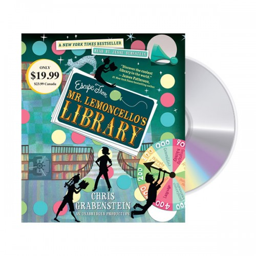 [모닝캄 2015-16 위너] Escape from Mr. Lemoncello's Library (Audio CD)