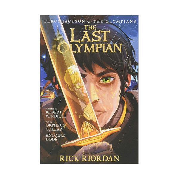 Percy Jackson and the Olympians Series #05 : The Last Olympian : The Graphic Novel (Paperback)