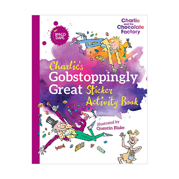 Charlie's Gobstoppingly Great Sticker Activity Book (Paperback)