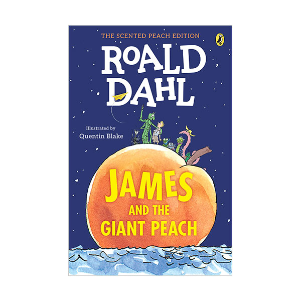James and the Giant Peach : 제임스와 슈퍼 복숭아 : The Scented Peach Edition (Paperback)