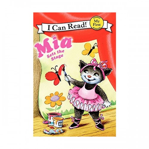RL 1.2 : My First I Can Read : Mia Sets the Stage (Paperback)