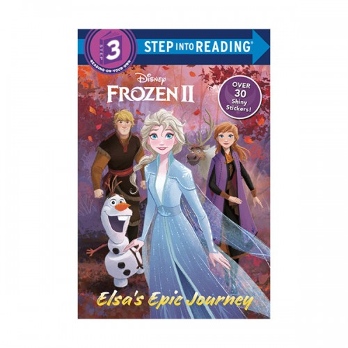 Step into Reading 3 : Disney Frozen 2 : Elsas Epic Journey (Paperback)