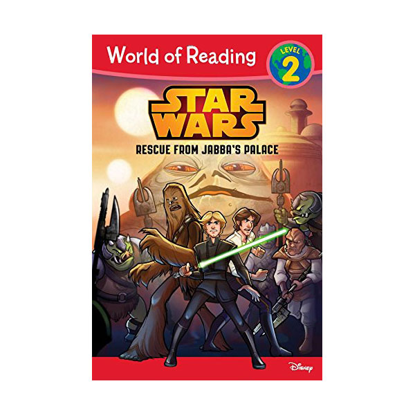 World of Reading 2 : Star Wars : Rescue from Jabba's Palace (Paperback)