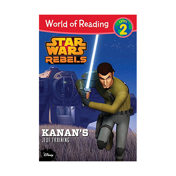 World of Reading 2 : Star Wars : Rebels Kanan's Jedi Training (Paperback)