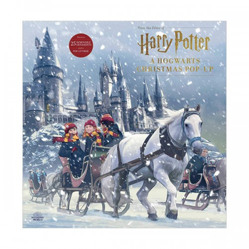 [가격인하] Harry Potter : A Hogwarts Christmas Pop-Up (Hardcover)