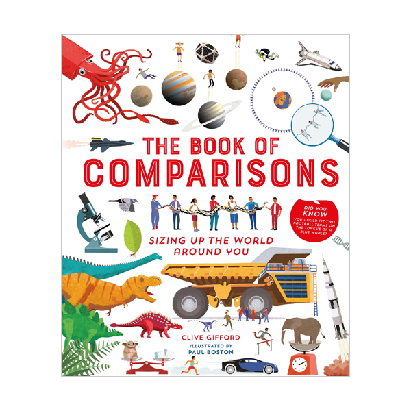The Book of Comparisons : Sizing up the world around you (Hardcover, 영국판)