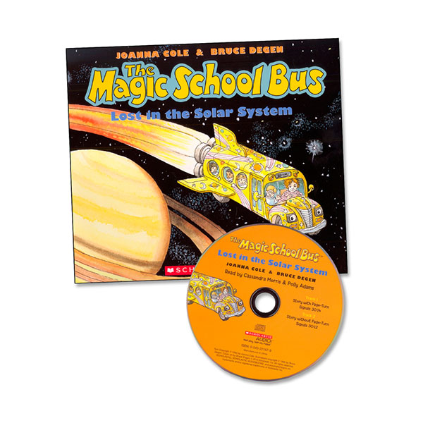 The Magic School Bus : The Lost in the Solar System (Paperback & Audio CD)