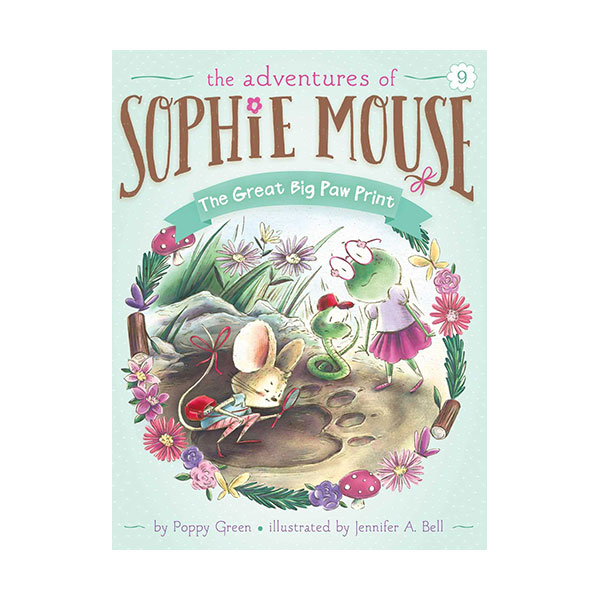 RL 3.3 : The Adventures of Sophie Mouse #09 : The Great Big Paw Print (Paperback)