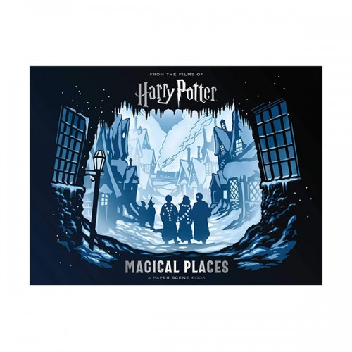 Harry Potter : Magical Places : A Paper Scene Book (Hardcover)