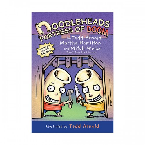 Noodleheads #04 : Noodleheads Fortress of Doom (Hardcover)