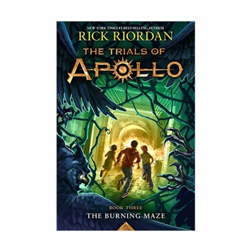The Trials of Apollo #03 : The Burning Maze (Paperback)