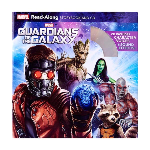 Read-Along Storybook : Guardians of the Galaxy (Book & CD)