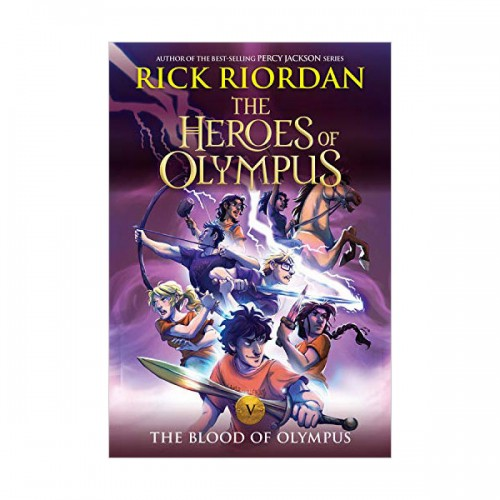 The Heroes of Olympus #05 : The Blood of Olympus (Paperback)