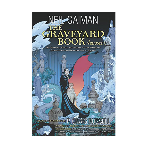 The Graveyard Book Graphic Novel : Volume 1 (paperback)