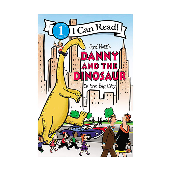 I Can Read 1 : Danny and the Dinosaur in the Big City (Paperback)
